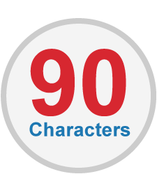 90 Characters icon