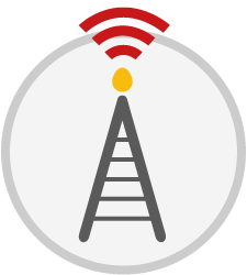 Phone tower icon